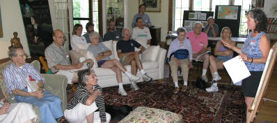 WMNF neighbors meet in Wonalancet